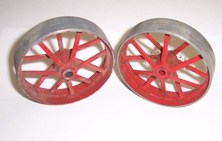 Mamod Traction Engine Back Wheels (Used)