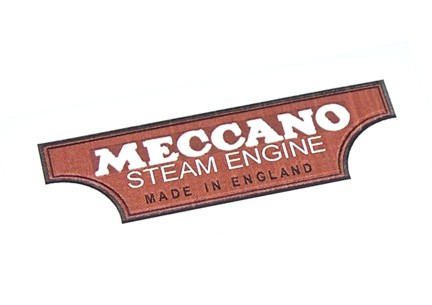 Mamod MEC1 Brown Meccano Decal