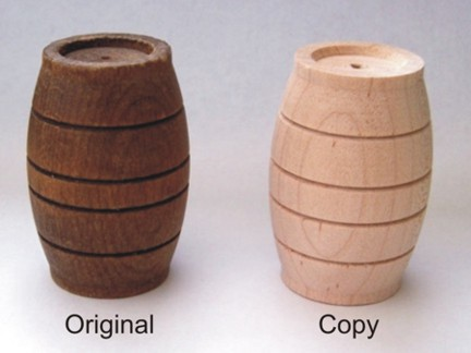 Wooden Barrel for Mamod OW1 and SW1 (x1)