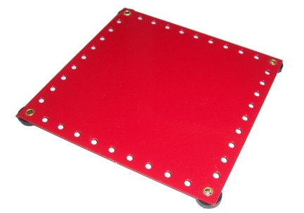 Flatbase 5.5x5.5 inches square with Rubber Feet